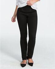 SPANX Signature Waist Straight Black  FD5815 Jeans 28 NWT $148