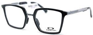 OAKLEY SIDESWEPT RX OX8160-0351 Polished Black Square Eyeglasses 51-19-141