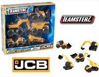 JCB 5 Mini Construction Vehicle Toy Cars Digger Dump Truck Boys Birthday Gift