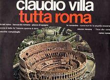 CLAUDIO VILLA disco LP 33 giri TUTTA ROMA made in ITALY