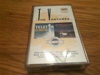The Ventures Play Telstar/In Space Cassette Tape 2 for 1
