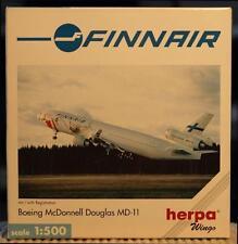 NEW HERPA WINGS 503471 FINNAIR BOEING MCDONNELL DOUGLAS MD-11 SANTA CLAUS 1:500