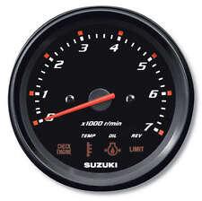 "Suzuki Outboard Parts 4"" Multifunction Tachometer Monitor Gauge 34200-93J00"