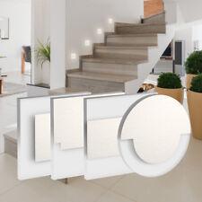 LED Wandeinbaustrahler Stufenlicht Treppenleuchte mit Unterputzdose +Trafo 230V