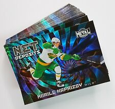 2020-21 Skybox Metal Universe Hockey NET DEPOSITS INSERT Cards (Pick Your Own)