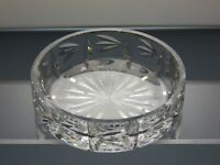 Lead Crystal Shallow Bowl or Dish Dressing