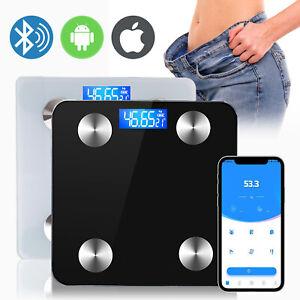 Digital Electronic Backlit Body fat Bathroom Scale 180KG scales Weight bluetooth