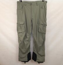MARMOT MENS WATERPROOF RUGGED SKI SNOWBOARD LINED PANTS TROUSERS size XL