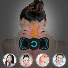 Portable Mini Electric Neck Massager Cervical Massage Back Massager Stimulator