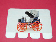 N°19 PANHARD 1892 PLAQUE METAL COOP 1964 AUTOMOBILE A TRAVERS AGES