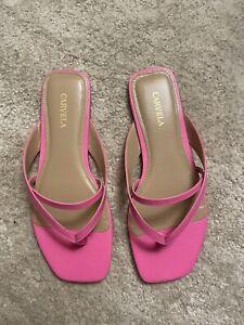 Carvela Neon Pink Sandals Size 5 (38)