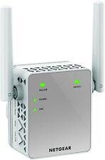 NETGEAR EX3700-100UKS AC750 Mbps Mini AC Dual Band Universal Wi-Fi Rang... - NEW