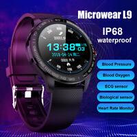 Microwear L9 Sports Smart Watch ECG PPG Blood Pressure Oxygen Heart Rate Monitor