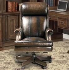 thomasville leather desk chair