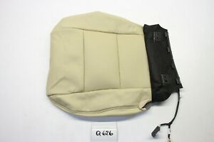 OEM FRONT LOWER SEAT COVER LEATHER ALMOND RIGHT PASSENGR 13-18 HEATED AVALON XLE