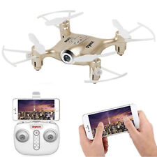 deAO X2IW FPV 2.4Ghz 4 Channel Remote Control Drone with App Control (Gold)