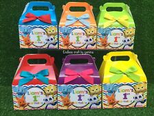 Word Party Theme candy box or candy bags.