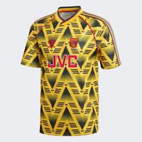 Adidas Retro Arsenal 91-93 Away Jersey Bruised Banana Extra Small Medium Large
