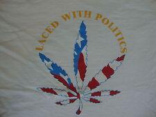 Vintage 90's HASH BASH 1995 weed smoke pot cronic tour RARE T Shirt XL