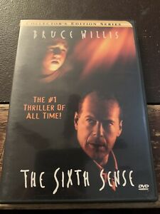 DVD - M. Night Shyamalan's: The Sixth Sense (2000, Widescreen) w/ Chapter Insert