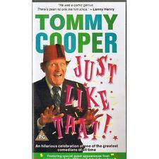 Tommy Cooper: Just Like That! VHS from 4 Front Video (083 940 3)