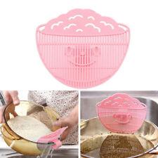 1 x Durable Plastic Rice Washing Cleaning Gardget Beans Wash Gadget Kitchen Tool