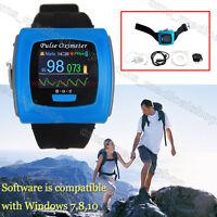 NEW Wrist Pulse Oximeter, Spo2 Monitor Daily And Overnight Sleep CE FDA,USB