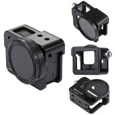 PULUZ Housing Shell Aluminium Alloy Frame Cage+52mm UV Lens For Gopro Hero6 5