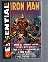 Essential Iron Man Vol 2 by Gene Colan & Don Heck 2004 TPB Marvel Comics OOP