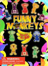 250 pcs Vending Machine $0.25/$0.50 Capsule Toys - Funny Monkeys