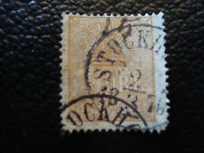 SUEDE - timbre yvert et tellier n° 12 obl (A5) stamp sweden