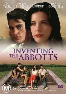 INVENTING THE ABBOTTS Liv Tyler, Jennifer Connelly, Joaquin Phoenix NEW DVD PAL
