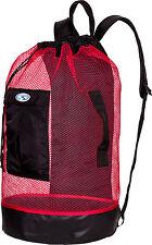Stahlsac Panama Scuba Diving Travel Mesh Backpack Gear Bag RED NEW