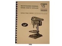 Strippit Fabricator Model 10-AA Operation /& Parts List Manual *388 Maintenance