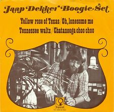 "JAAP DEKKER BOOGIE Set Yellow Rose of Texas Tennessee Waltz 7 "" Single (c473)"