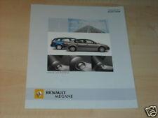 13475) Renault Megane Lim. GT Avantage Prospekt 2005