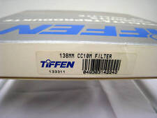 NUEVO Tiffen 138mm cc10m MAGENTA Cristal Redondo Filtro #138cc10m