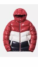 Moncler Kith Rochebrune Classic Down Jacket Red/White/Navy