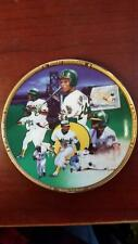 Sports Impressions Collector Plates Rickey Henderson by Terrence Fogarty