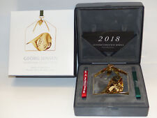 Georg Jensen Christmas Collectibles Weihnachtsmobile 2018 GOLD Art. 10010396 OVP