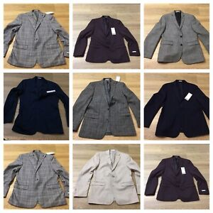 mens Bar III suit jacket coats slim fit all sizes and colors