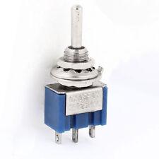 AC 125 V 6 A 2 Pines de encendido/apagado de 2 posiciones 1P2T SPDT Interruptor de palanca de reemplazo