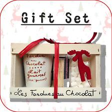 """""""Feutre Renne"""" fondue au chocolat + mini Guimauve cadeau de Noël Set XS1"""