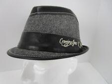 61e4070442d Daniel Cremieux Jeans Gray Herringbone Fedora Size S M-Men s