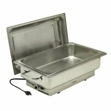 """Electric Chafer Full Size 14 1/3 Qt Stainless Steel - 22""""L x 13""""W x 12""""H"""