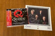 QUEEN - GREATEST HITS IN JAPAN - Japan CD+DVD W/CALENDAR WPCP-4000