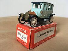 Antigua miniatura Rami JMK #24 Lorraine Dietrich 1911 R.a.m.i. 1:43 J.M.K.