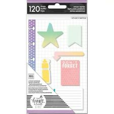 Happy Planner Girl Mini Sticky Notes Healthy Hero Water Bottle Goal 120 Sheets