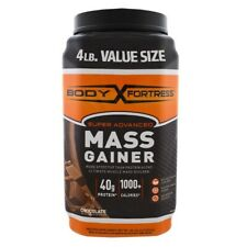 Body Fortress Super Advanced Mass Gainer, Chocolate Protein BB Date 11/2021 NEW