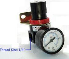 "1/4"" 1000 L/min Compressed Air Pressure Regulator Fitting with bracket fit AWT04"
